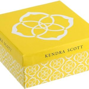 Kendra Scott Jewelry - Kendra Scott Maxwell in Rhodium & Black Glass